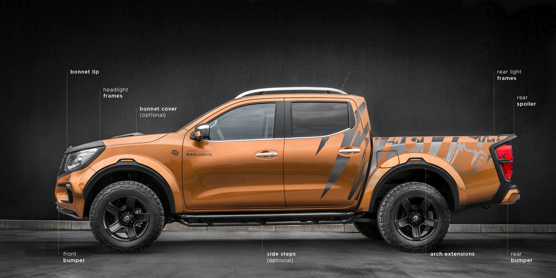 Nissan Navara NAVY Exclusive
